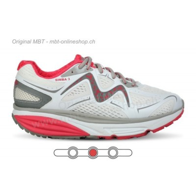 MBT Simba 3 white red w